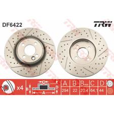 Bremsscheibe (2 Stück) - TRW DF6422