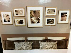 Gallery Perfect 7 Wood Picture Frames Boxed New Z6
