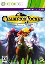 Used Xbox 360 Champion Jockey  G1 MICROSOFT  JAPAN JAPANESE JAPONAIS IMPORT