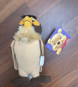 Disney Winnie The Pooh Owl With Books Plushie With Tags