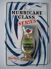 Hard Rock Cafe Toronto Hurricane Glass Series Pin 2016 - Cafe Closed