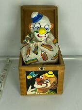 Vintage Jack in The Box Made in Germany Clown 8344 Egglham Eichhorn