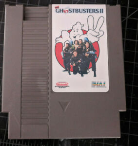 New Ghostbusters II 2 Nintendo NES HAL Cartridge