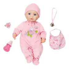 Zapf Creation Baby Annabell Doll Interactive 46cm With Accessories