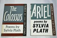 Sylvia Plath The Colossus and Ariel 2 Paperbacks