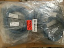"Lot of 20 Cat6E 6"" 6 Foot Blue Cables UTP Booted 550MHz"