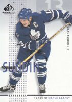 2002-03 SP Game Used Hockey #46 Mats Sundin Toronto Maple Leafs