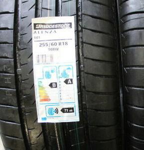 NEW 255 60 18 Bridgestone Alenza 001, 108w, x1 Single 4x4 Tyres (Discount)
