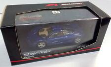 MINICHAMPS 1/43 1993 MCLAREN F1 GTR ROAD CAR METALLIC BLUE 530133435