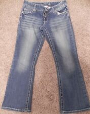 Maurices Brand jeans, Light wash denim boot cut.  5/6 x-short
