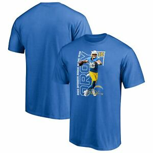 Justin Herbert Los Angeles Chargers  NFL Offensive Rookie of the Year T Shirt