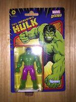 "HULK ~ Hasbro Kenner ~ Marvel Legends ~ Retro 3.75"" New 2021 Action Figure"