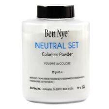 Ben Nye Neutral Set Authentic Colorless Face Powder 3 oz