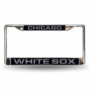 Rico Industries Chicago White Sox Black Chrome Frame