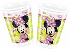 Minnie Mouse Bow-Tique 200ml Plastic Cups 8pk - Disney Birthday Party Tableware