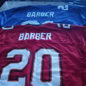 Men's Reebok RONDE BARBER #20 Tampa Bay Buccaneers NFL Red Jersey Sz L Large