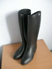 SHIRES Equestrian Horse Riding Wellington Boots Black Size 6  - (K122)