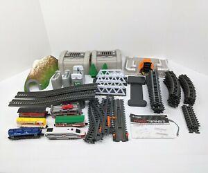 Jakks Pacific 2012 Power Trains Lot - Auto Loader City Bullet Train & Extras!!!