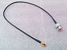 BNC to SMA RF Adapter Cable - 325mm - Male to Male