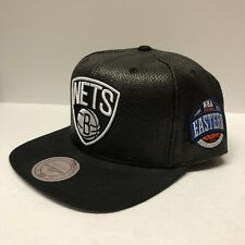 Authentic Mitchell & Ness Official Brooklyn Nets NBA Eastern Conference Snapback