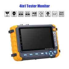 4in1 5MP HD CCTV Tester Video Monitor 5MP TVI/AHD 4MP CVI Camera HDMI/VGA Input