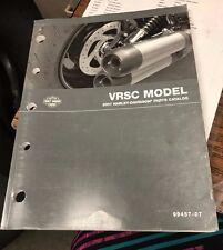 Harley-Davidson 2007 VRSC Models Parts Catalog