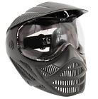 Tippmann Valor Paintball Mask w/ Visor and Fog Resistant Lens - Black Goggle
