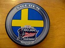 '05 World Junior Championships Tourney Sweden Hockey Puck Check My Other Pucks