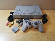 Sony PlayStation [Scph-1001] Console System w/ Oem Analog Controller (Ps1).