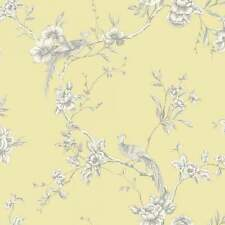 Arthouse Opera Chinoise Yellow Bird Floral Trail Feature Wallpaper 422804