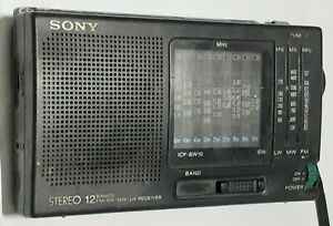 Sony ICF SW 10 Shotwave radio fully working used condition
