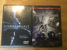 M. Night Shyamalan  [2 DVD] The Happening  + Unbreakable - Unzerbrechlich