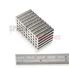 500 Imanes 4x2 Mm de Neodimio Disco Redondo Pequeño Artesanía FRIDGE MAGNET 4mm diámetro x 2mm