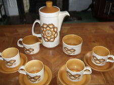 ROYAL WORCESTER 60'S PALISSY TEA SERVICE FOR 4