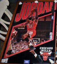 CHICAGO BULLS VINTAGE RARE NEW POSTER MICHAEL JORDAN INFINITY
