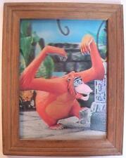 Lenticular 1960's Vintage Walt Disney Framed Jungle Book King Louie Ape