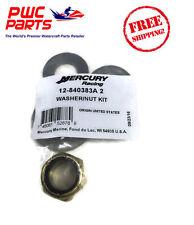 MERCURY OEM 5.44 Gearcase Bravo I XR VERADO Washer Prop Nut Kit Racing 840383A 2