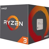 NEW! Amd Ryzen 3 1200 Quad-Core 4 Core 3.10 Ghz Processor Socket Am4 Retail Pack
