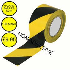 Hazard Barrier Tape 100 meters Non Self Adhesive Tape Warning Hazard Tape