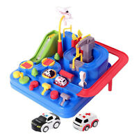 City Rescue Engineering Vehicles Playsets Car Adventure Toys Educational Toy