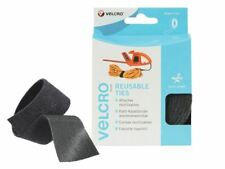 More details for velcro? brand one-wrap? reusable ties 30mm x 5m black vel60254