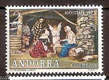 ANDORRA  Edifil # 79 ** MNH Set Navidad / Christmas / Nöel
