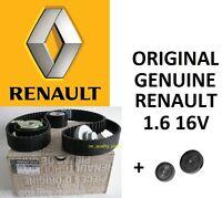 Timing Belt Kit OE Genuine Renault Megane Scenic Clio Laguna 1.6 16V Cambelt Set