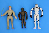 """Lot of 3 - Bend Ems 4.5"""" Stars Wars Figures by Just Toys"""
