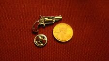 North American Arms Small Revolver Firearms Hat Lapel Pin
