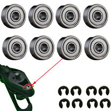 8 X Upgrade Drive Ball Bearings and Cirlips Clips For Parrot AR Drone 2.0 &1.0