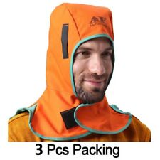 AP-6671 Fire Resistant Head Neck Protect Welding Helmet Hood Cap DooRag Hat 3Pcs