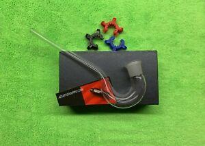 lab glass j hook 18mm glass Hookah adapter