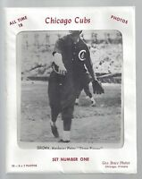 VINTAGE 1960s GEO BRACE CHICAGO CUBS ALL TIME GREATS PICTURE PACK (18) CARD SET