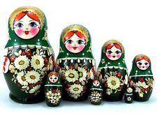 Matroschka puppe Babuschka Matrjoschka Russische holzpuppen Gänseblümchen 7 tlg